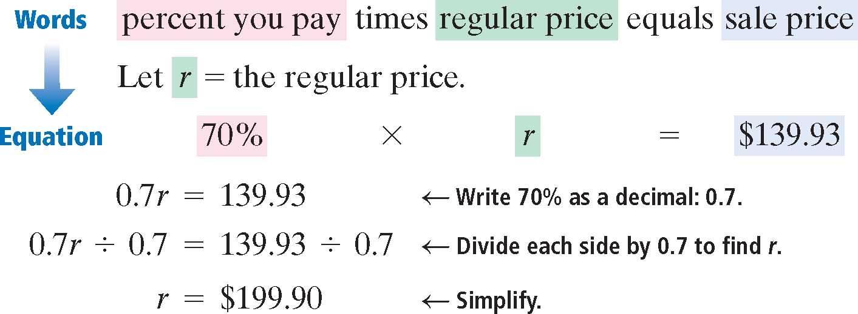 phrase example mathematical